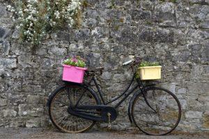 Zum Hollandrad E-Bike gehört der Gepäckträger